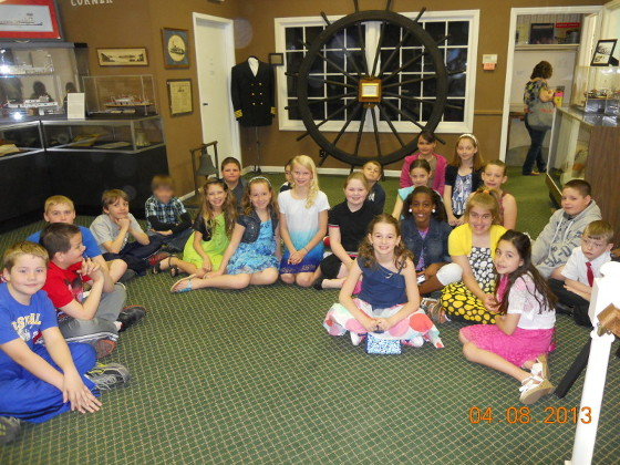 Hannibal Elementary School Visit