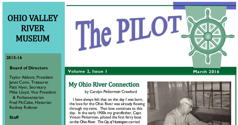 OhioValleyRiverMuseumNewsletter201603Crop